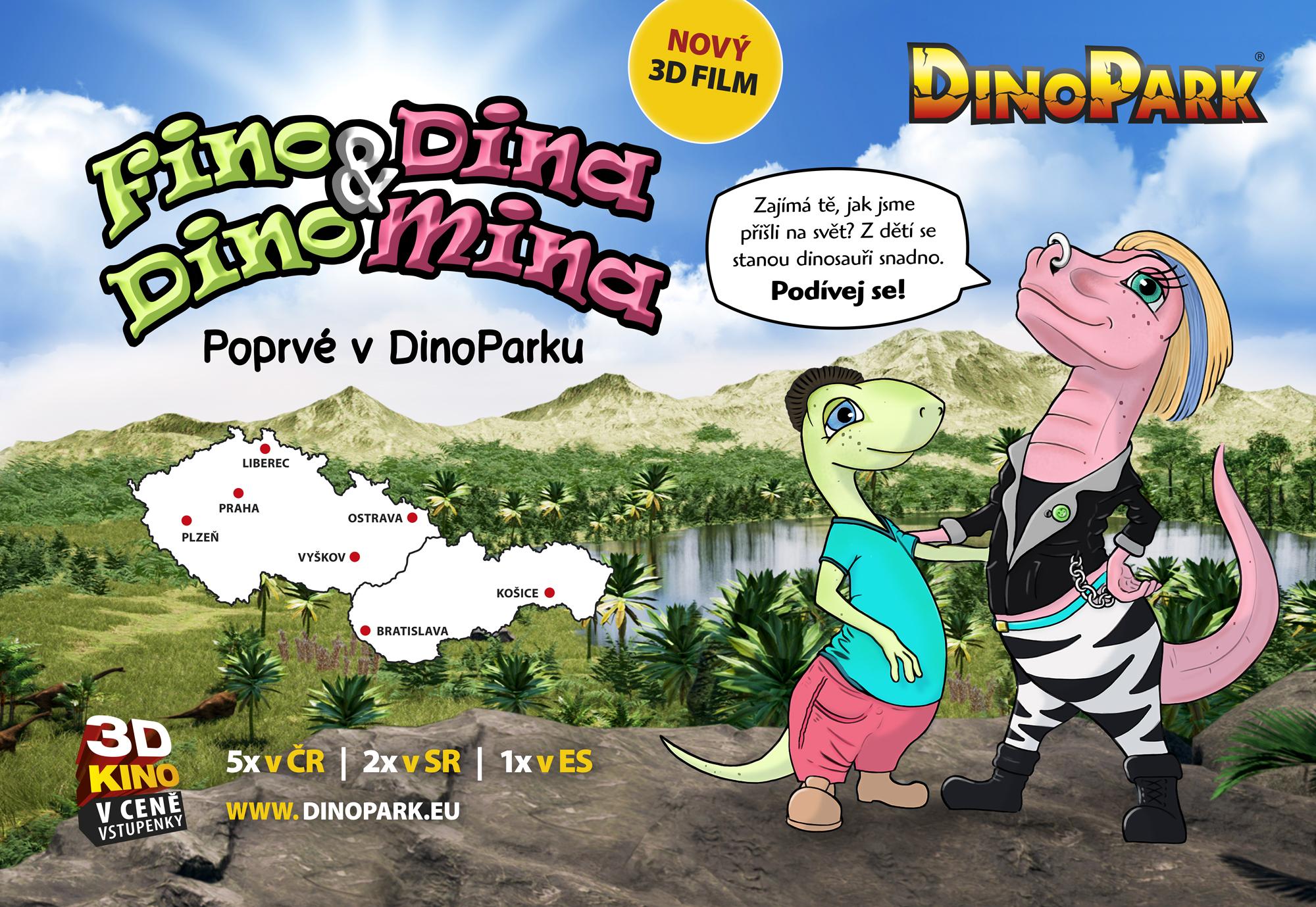 nový film v dinoparku